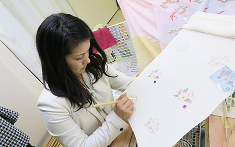 千葉県の着物・振袖店みかわやの産地研修
