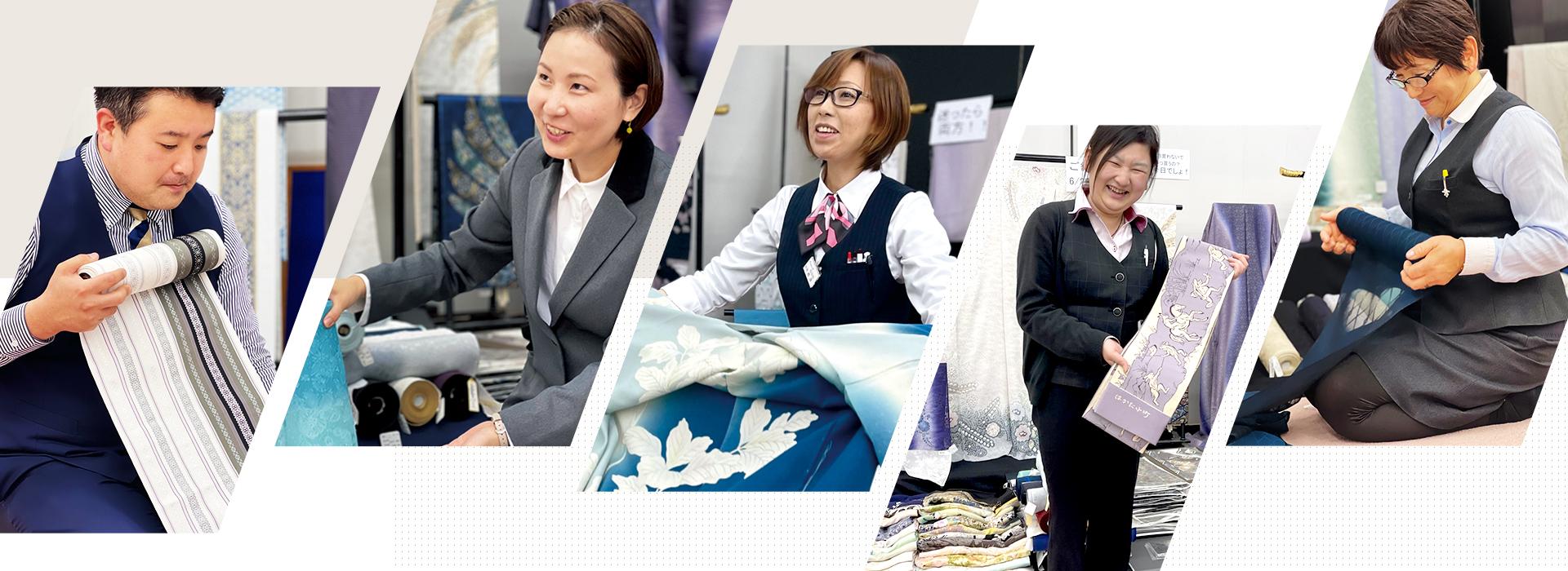 千葉県の着物・振袖店みかわやの求人情報