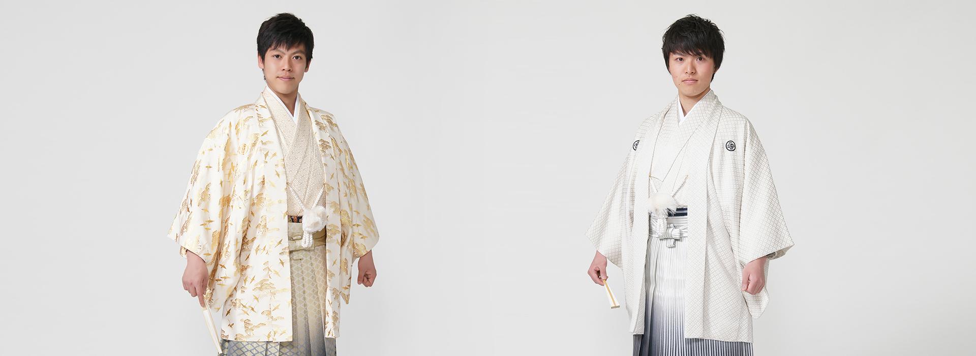 男性羽織袴レンタル