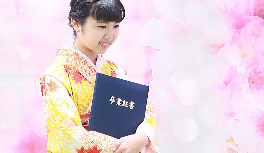 千葉県の小学校の卒業式はみかわやの小学生袴