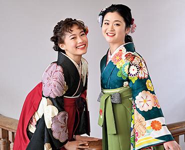 千葉県の卒業式はみかわやにおまかせ|卒業袴