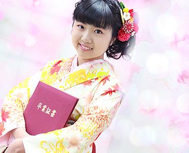 千葉県の卒業式はみかわやにおまかせ|ジュニア袴